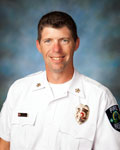 Fire Chief Dustin Dienst