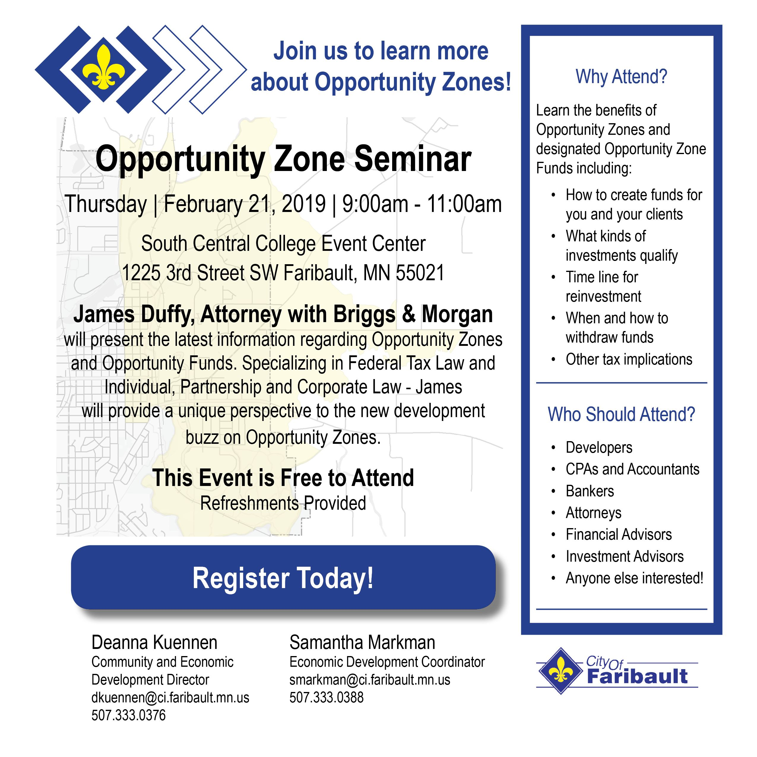 Opportunity Zone Seminar Invite - JPEG