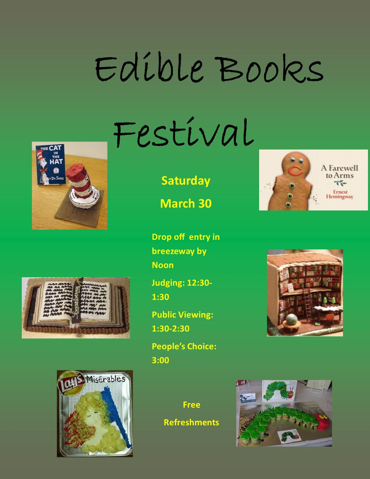 Edible Books Flyer 2019