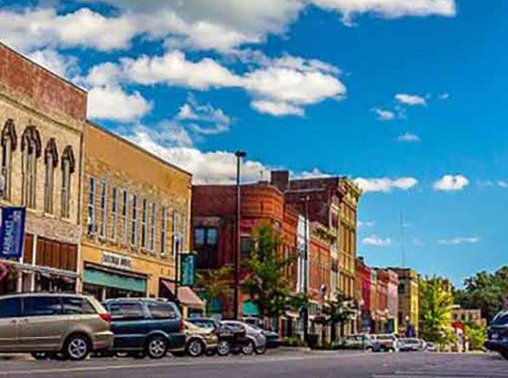 A picture of Downtown Faribault