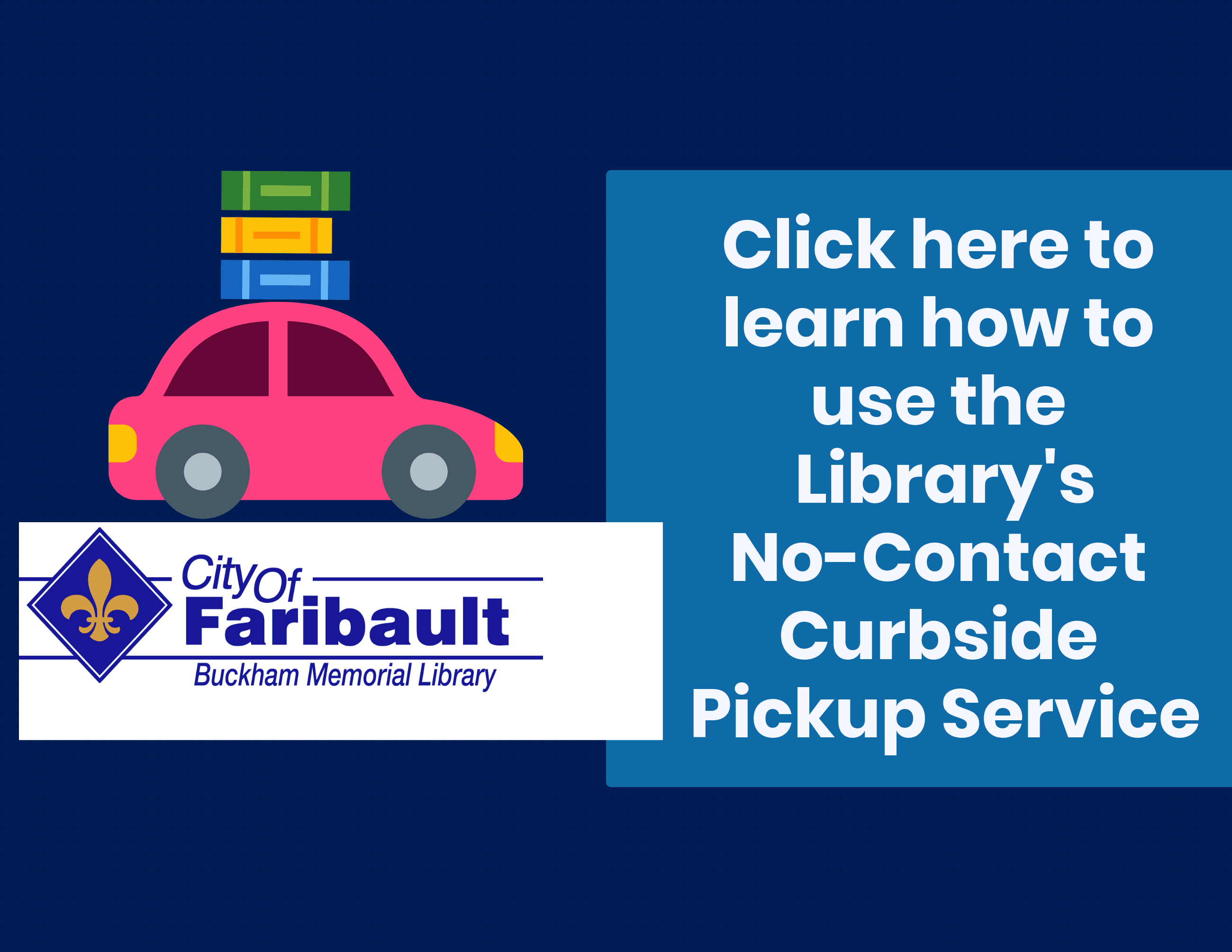no contact curbside pickup instructions
