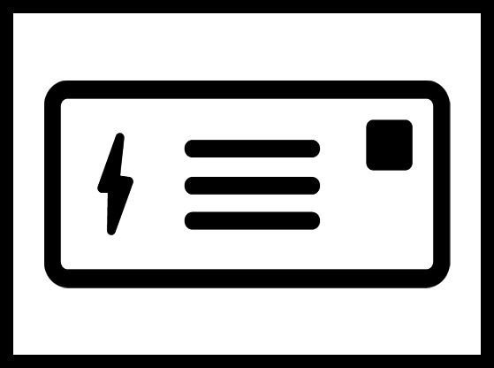 An image of an electric bill.
