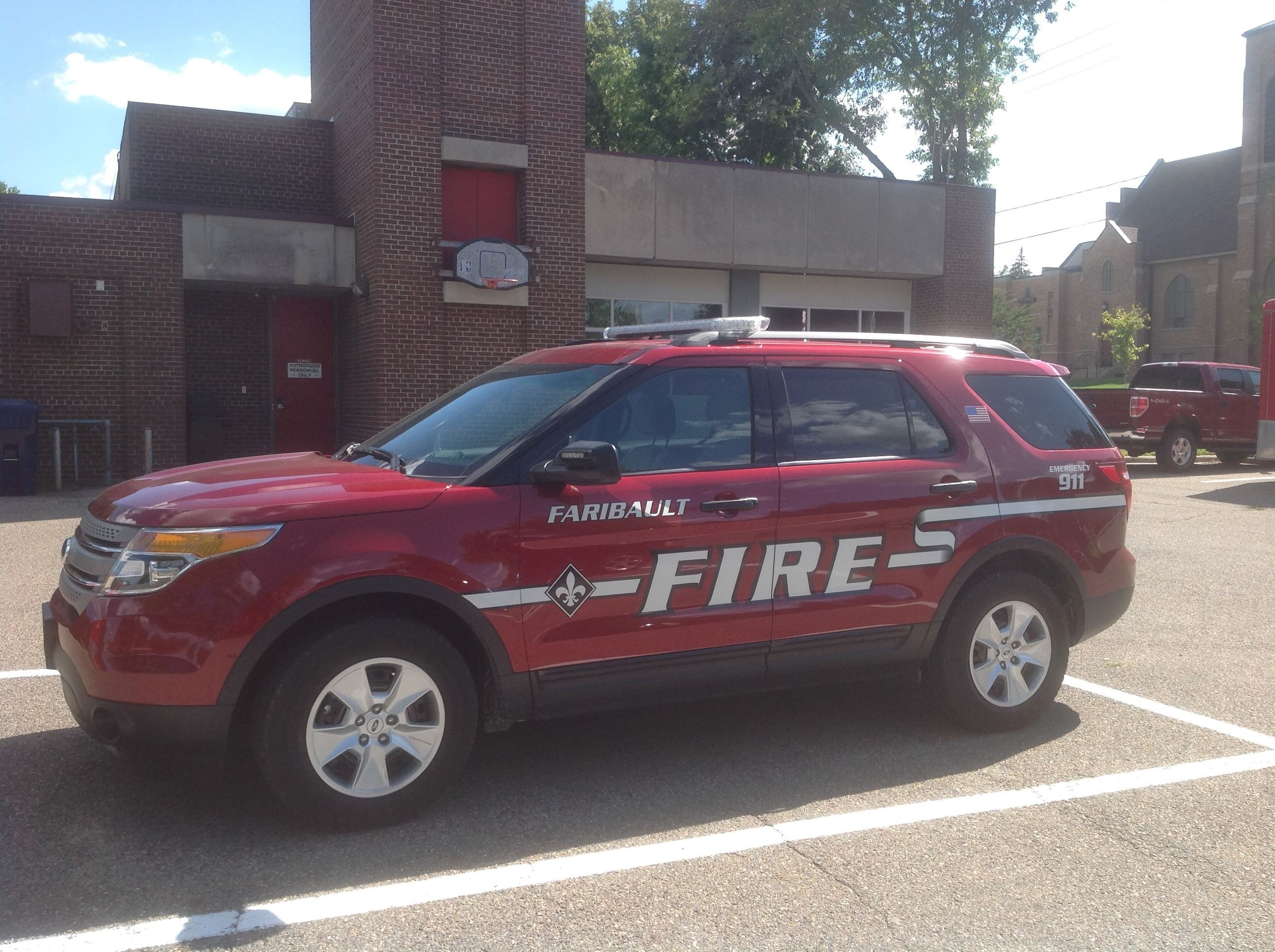 2101 Fire Chief Vehicle