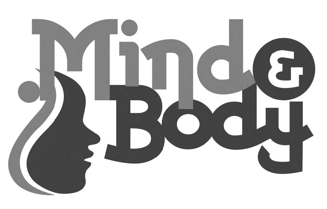 "A picture of the Mind and Body logo that reads ""Mind and Body"""