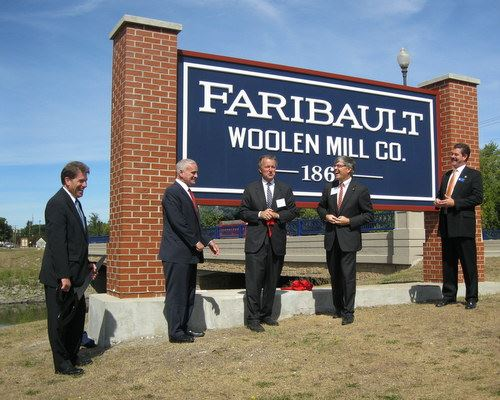 Woolen Mill Ribbon Cutting